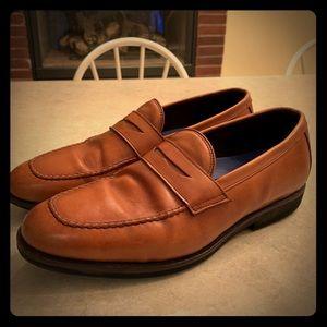 Allen Edmonds Brown SFO Slip-On Loafers Size 10.5